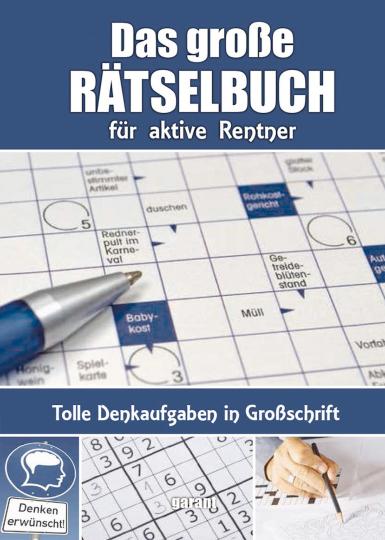 Rätselbuch für aktive Rentner.