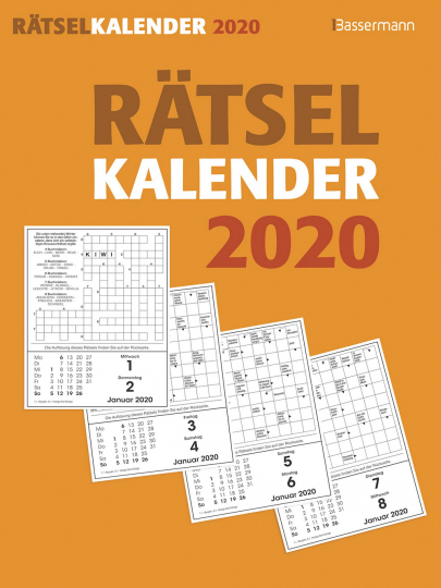 Rätselkalender 2020 - Abreißkalender