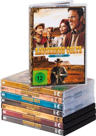 Rauchende Colts - Die komplette Serie. 46 DVDs.