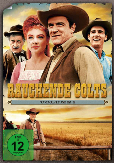 Rauchende Colts Volume 1. 7 DVDs.