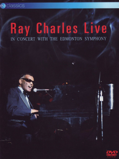 Ray Charles Live with the Edmonton Symphony - Canada 1981DVD