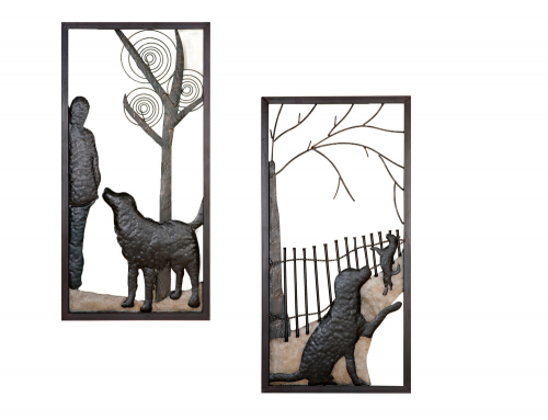 Relief Hundefreund, 2er-Set.