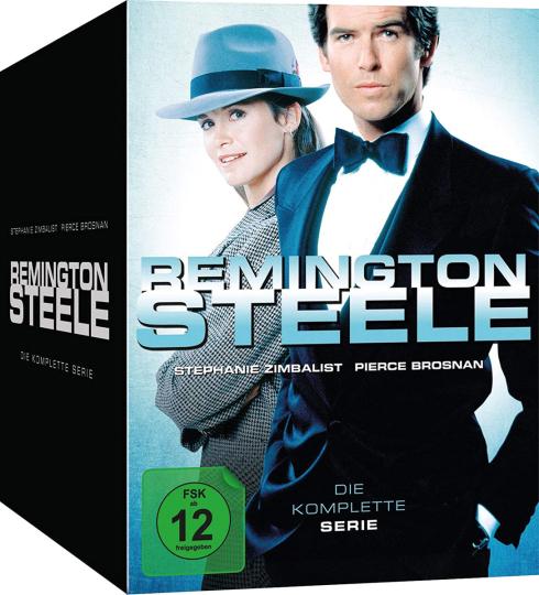 Remington Steele (Komplette Serie). 30 DVDs