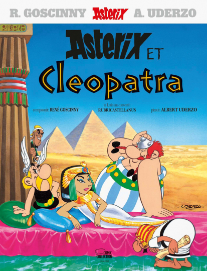 Asterix Latein. Asterix et Cleopatra.