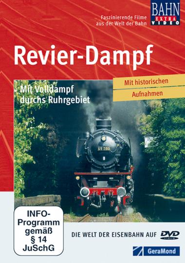 Revier-Dampf - Mit Volldampf durchs Ruhrgebiet DVD