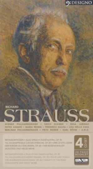 Richard Strauß 4 CDs