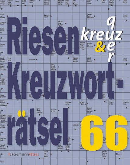 Riesen-Kreuzworträtsel 66.