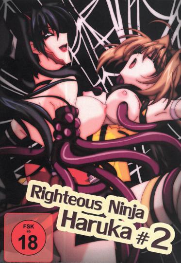 Righteous Ninja Haruka 2 DVDs