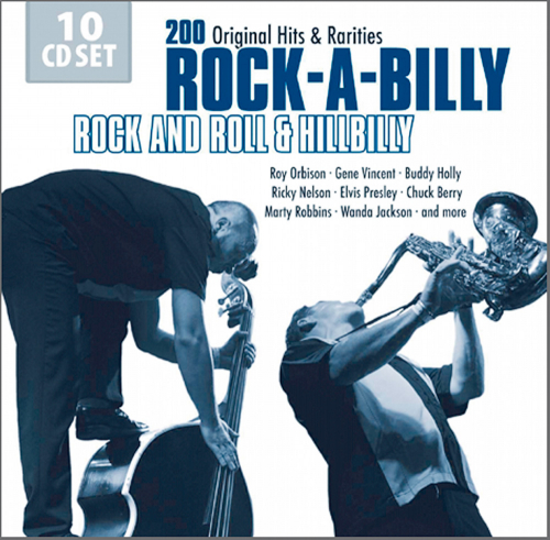 Rock and Roll Hillbilly Explosion 10 CDs