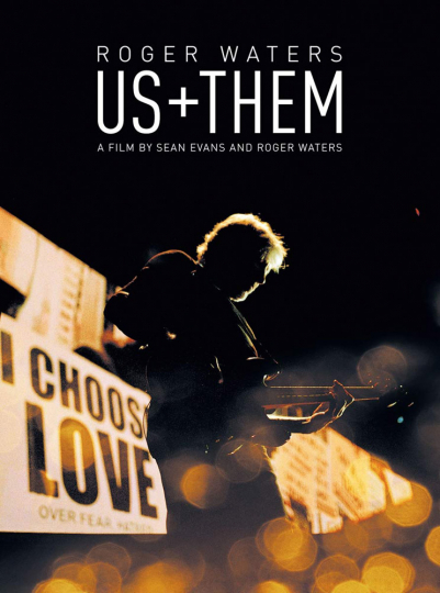 Roger Waters: Us + Them. DVD.