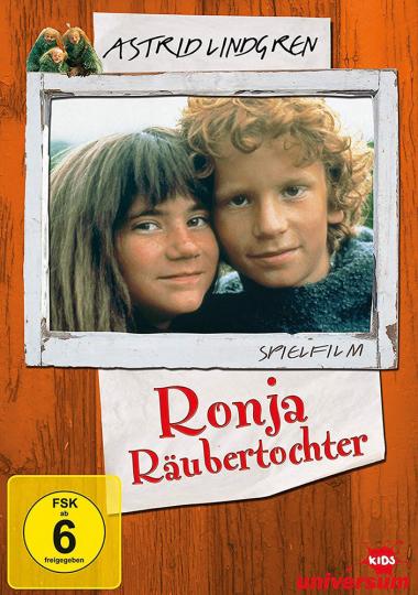 Astrid Lindgren, Ronja Räubertochter. 2 DVDs.