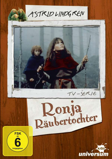 Ronja Räubertochter (TV-Serie). DVD.