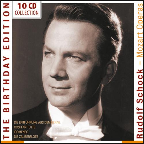 Rudolf Schock. Birthday Edition. Mozart-Opern.