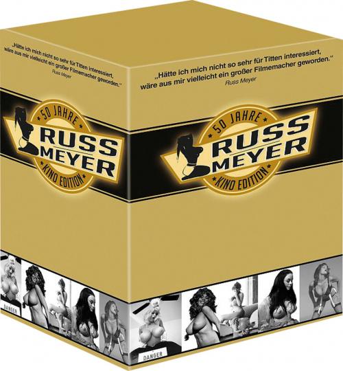 Russ Meyer Kinoeditions-Box. 7 kultige Original Kinofilme. 7 DVDs.