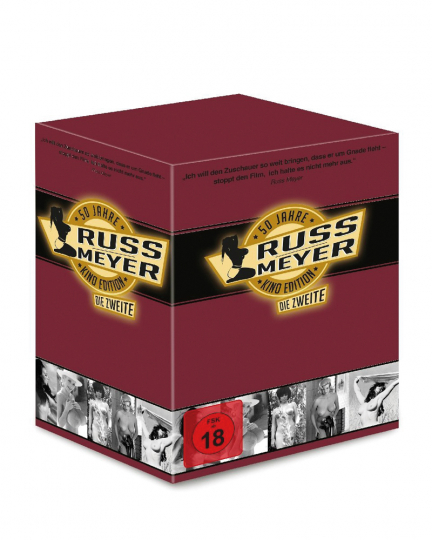 Russ Meyer Kinoeditions-Box. Die Zweite. 6 kultige Original Kinofilme. 6 DVDs.