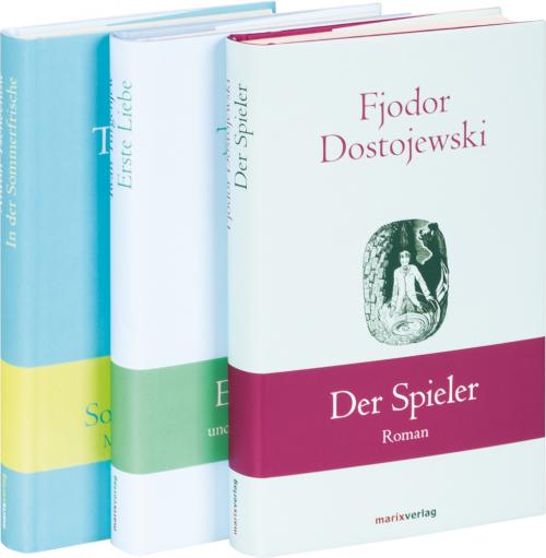 Russische Autoren. 3 Bände im Set.
