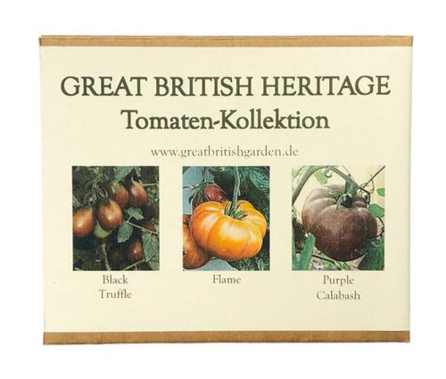 Saatgut-Box Tomaten, Kollektion Nr. 2.