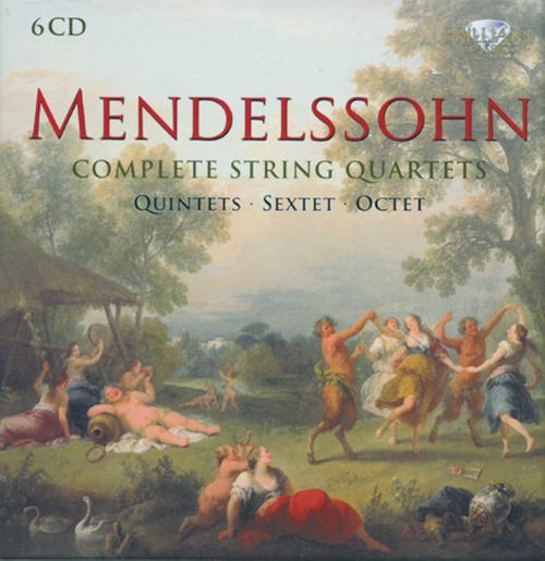 Sämtliche Streichquartette, Quintette, Sextett & Oktett 6 CDs