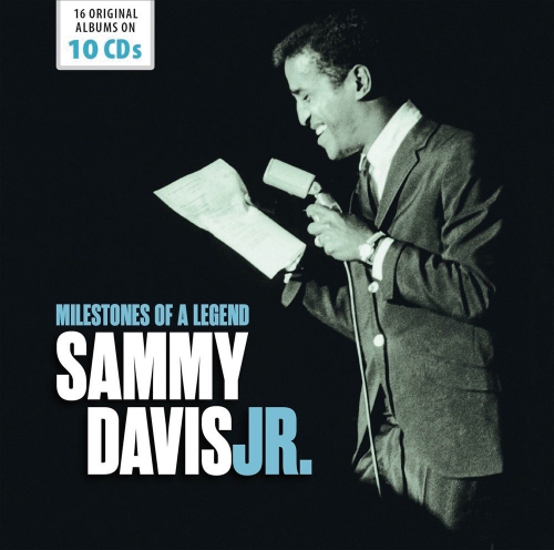 Sammy Davis Jr. Milestones Of A Legend. 10 CDs.