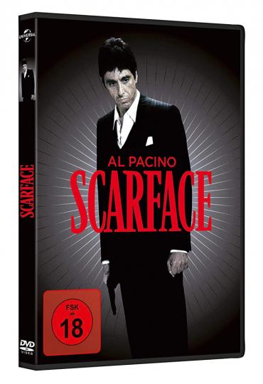 Scarface (1983). DVD.