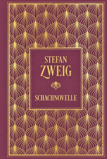 Schachnovelle - Hochwertige Leinenausgabe mit Goldfolienprägung.