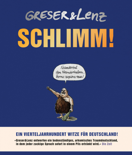 Schlimm! Ein Vierteljahrhundert Witze für Deutschland.