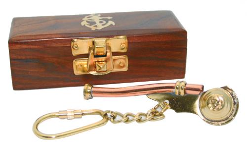 Schlüsselanhänger Bootsmanns Pfeife