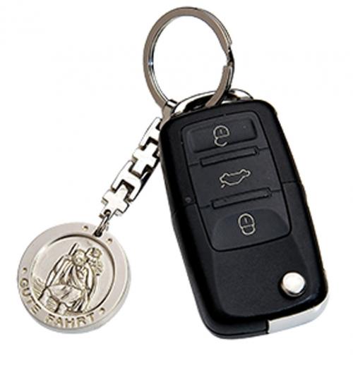 Schlüsselanhänger 'Gute Fahrt'