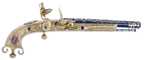 Schottische Pistole , Dough of Dowane 1760
