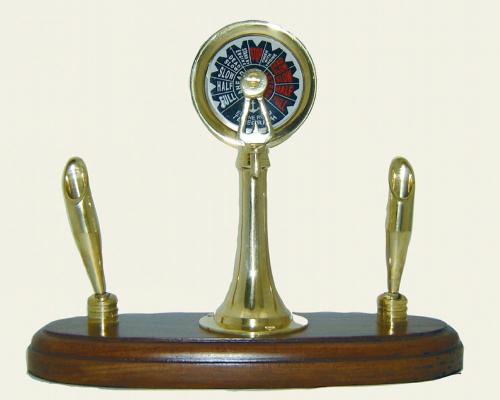 Schreibtisch-Set Maschinentelegraf