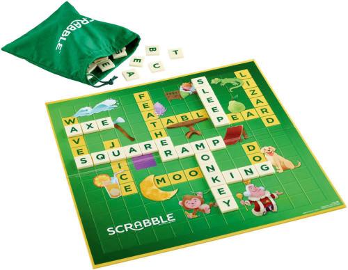 Scrabble Practice & Play. Spielend Englisch lernen. Wörterspiel.