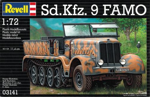 SD KFZ 9 Famo - Maßstab 1:72