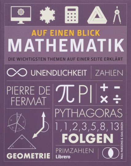 Sehen & Verstehen. Mathematik. Die wichtigsten Themen auf einer Seite erklärt.