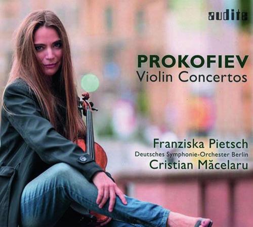 Sergei Prokofjew. Violinkonzerte Nr. 1 und 2. CD.