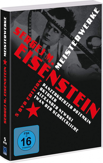 Sergej M. Eisenstein - Meisterwerke. 5 DVDs.