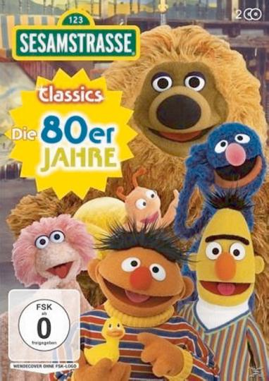Sesamstraße Classics - Die 80er Jahre. 2 DVDs.