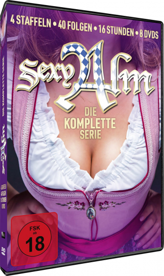 Sexy Alm (Komplette Serie). 8 DVDs.