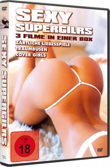 Sexy Supergirls (3 Filme in 1 Box). DVD.