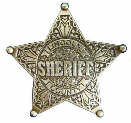 Sheriffstern Pat Garrett