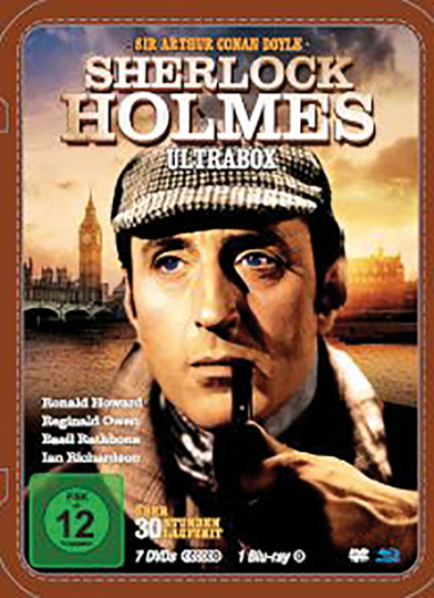 Sherlock Holmes - Ultrabox. 8 DVDs.