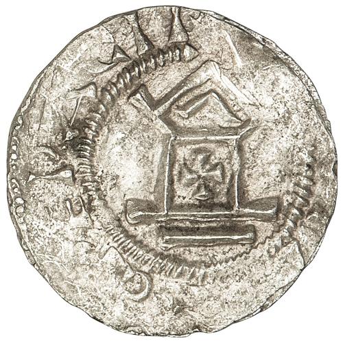 Silbermünze Otto III. - Silberdenar aus Speyer