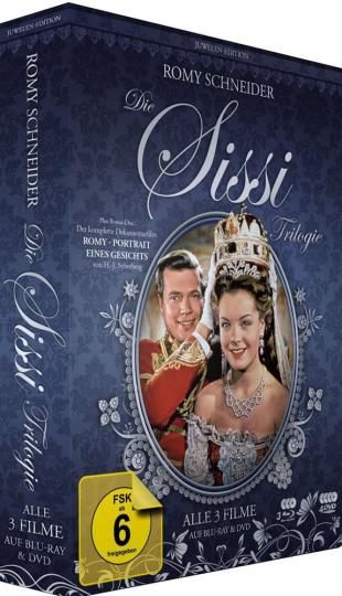 Sissi Trilogie (Juwelen Edition). DVD + Blu-ray