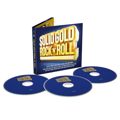 Solid Gold Rock 'n' Roll. 3 CDs.