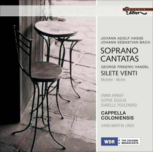Soprano Cantatas. Werke von Händel, Bach, Hasse. CD.