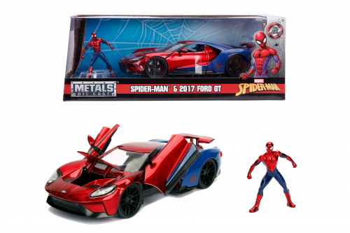 Spiderman Ford GT 2017 – Modell 1:24