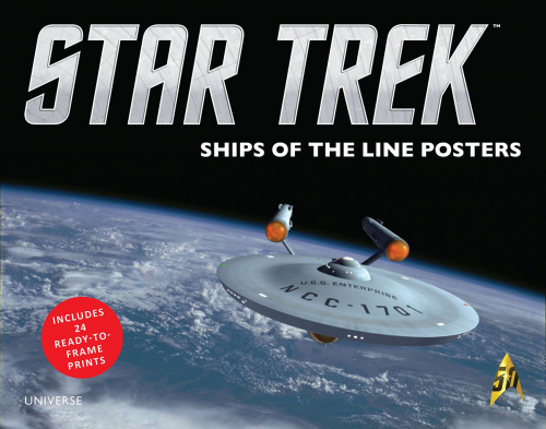 Star Trek Raumschiffe. Ships of the Line. 24 Poster.