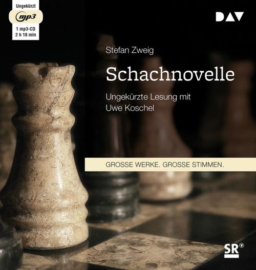 Stefan Zweig. Schachnovelle. mp3-CD.