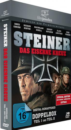 Steiner - Das Eiserne Kreuz I + II. 2 DVDs