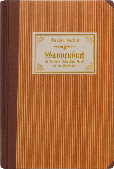 Stephan Brechtel. Wappenbuch des Heiligen Römischen Reichs. Cod.icon. 390 der Bayerischen Staatsbibliothek.