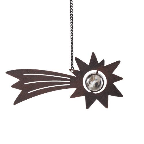 Sternschnuppe aus Metall.
